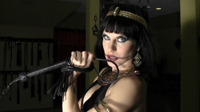 Serving Under Cleopatra's Whip